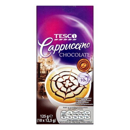 Cappuccino Italpor TESCO Csokoládé ízű 10x12,5g/doboz