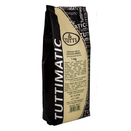 CappuccinodrinkpowderGreenTUTTIMATIC1kg/bag