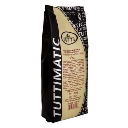 Forró Csokoládé Italpor piros TUTTIMATIC 1 kg/cs