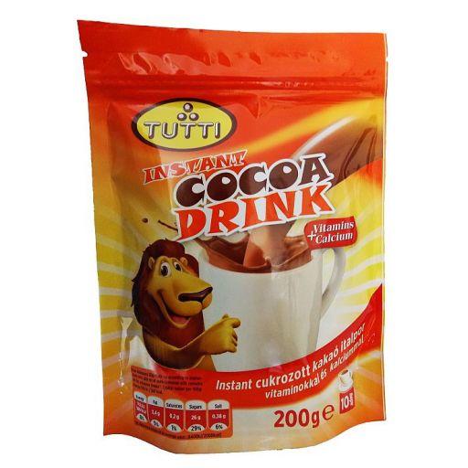 Instant Kakaó Italpor TUTTI Cocoa Drink 200 g/cs
