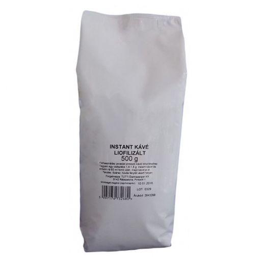 Instant Kávé Liofilizált TUTTI 500 g/cs