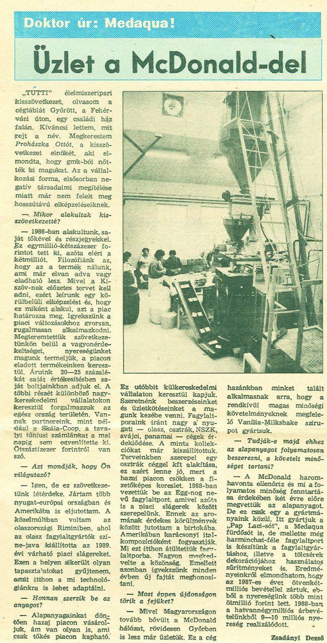 1989 - Kisalföld
