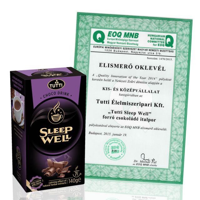 Tutti Sleep Well csokoládé italpor