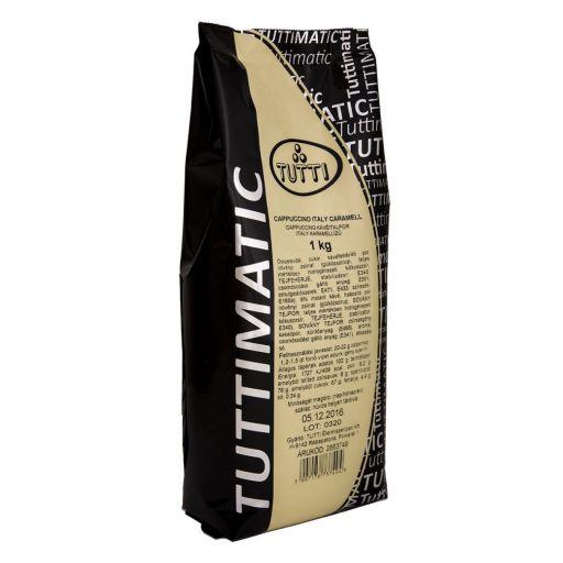CappuccinodrinkpowderItalyCaramellTUTTIMATIC1kg/bag