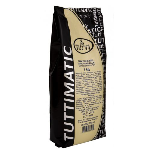 Cappuccino drink powder Blue TUTTIMATIC 1 kg/bag