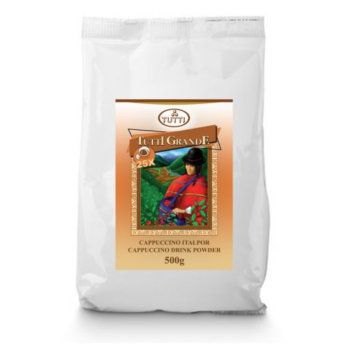 Tutti Grande Cappuccino Drinking Powder 500 g/bag