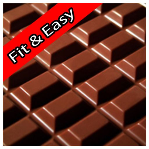 Chocolate Ice-Cream Powder FIT & EASY 1 kg/bag