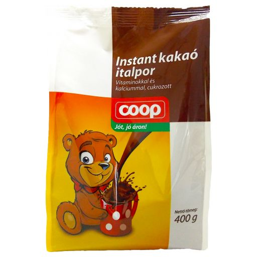 COOP Instant Cocoa Powder 400 g/bag