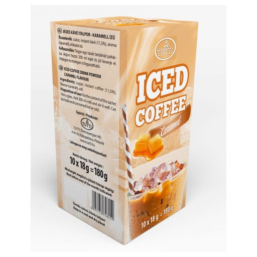 Ice coffee Tutti Caramel 10*18 g paper box
