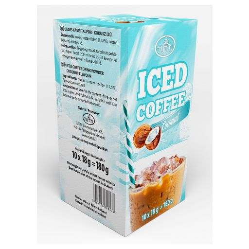 Ice coffee Tutti Coconut 10*18 g paper box