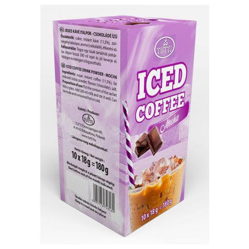 Ice coffee Tutti Mocha 10*18 g paper box