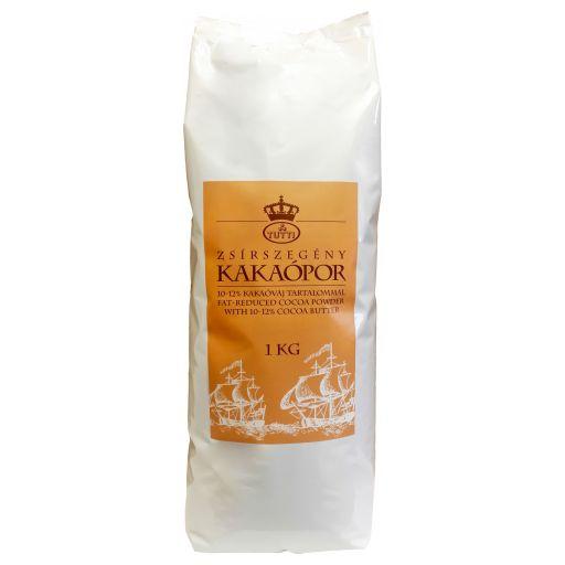 Kakaópor Zsírszegény 10-12% 1 kg/cs