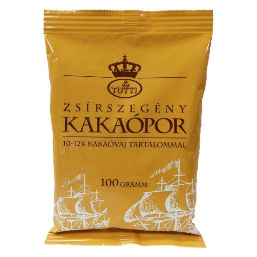Kakaópor Zsírszegény 10-12% 100 g/cs