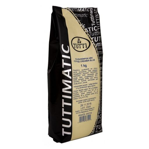 Kávékrémpor kék TUTTIMATIC 1 kg/cs