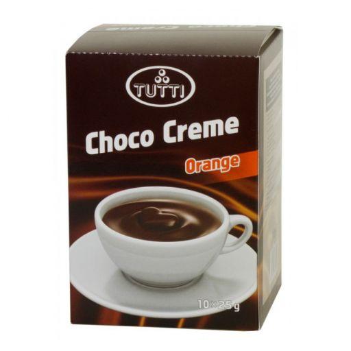 Krémcsokoládé TUTTI Choco Creme Orange 10x25g
