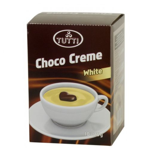 Cream-Chocolate TUTTI Choco Creme White 10x25g