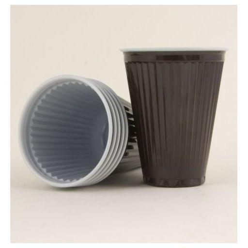 PlasticCupPolarBrown180ml