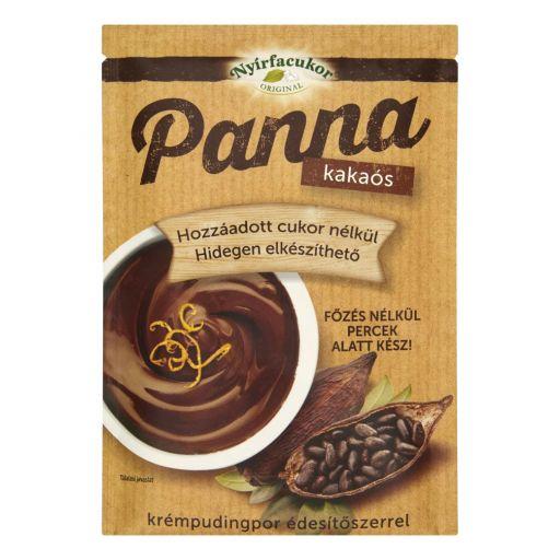 NYÍRFACUKOR Panna hidegen elkészíthető kakaós krémpudingpor 50 g