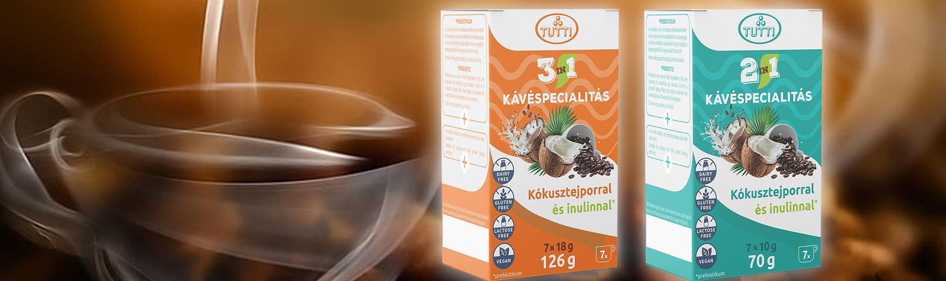 3in1 és 2in1 kávéspecialitás