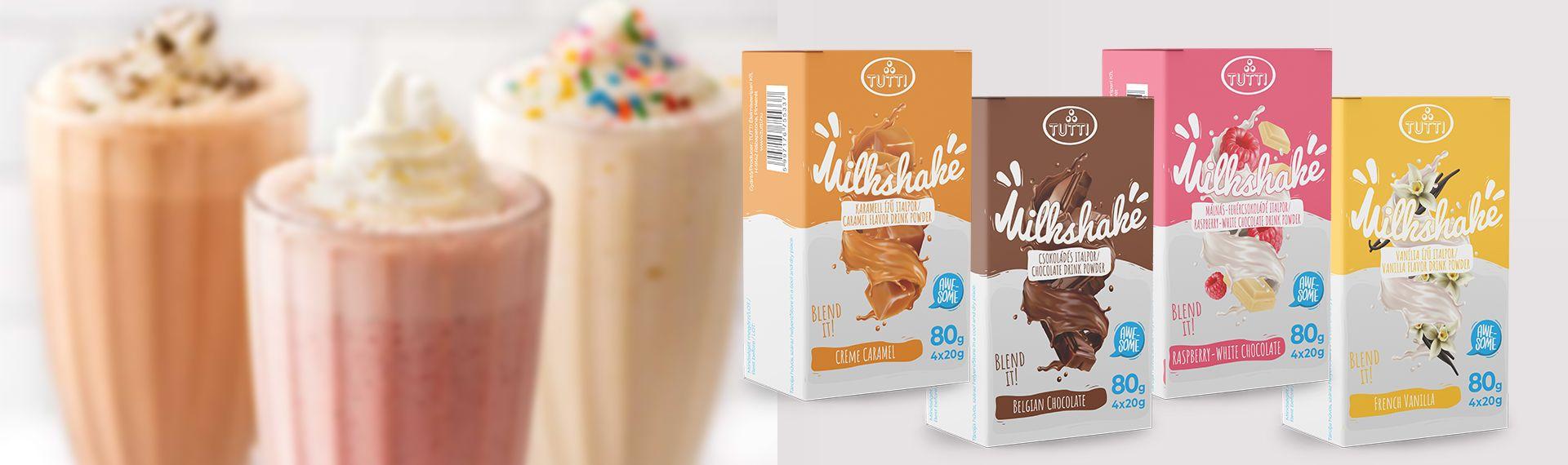 Forró nyárban hűsítő Milkshakek!