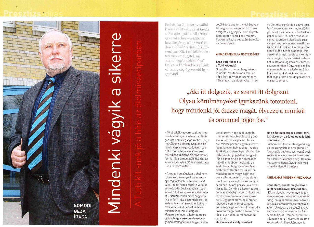 2007/5. szám Presztízs Magazin /1