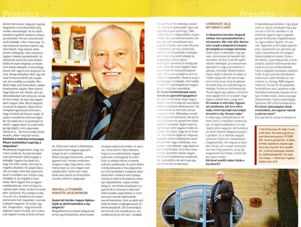 2007/5. szám Presztízs Magazin /2