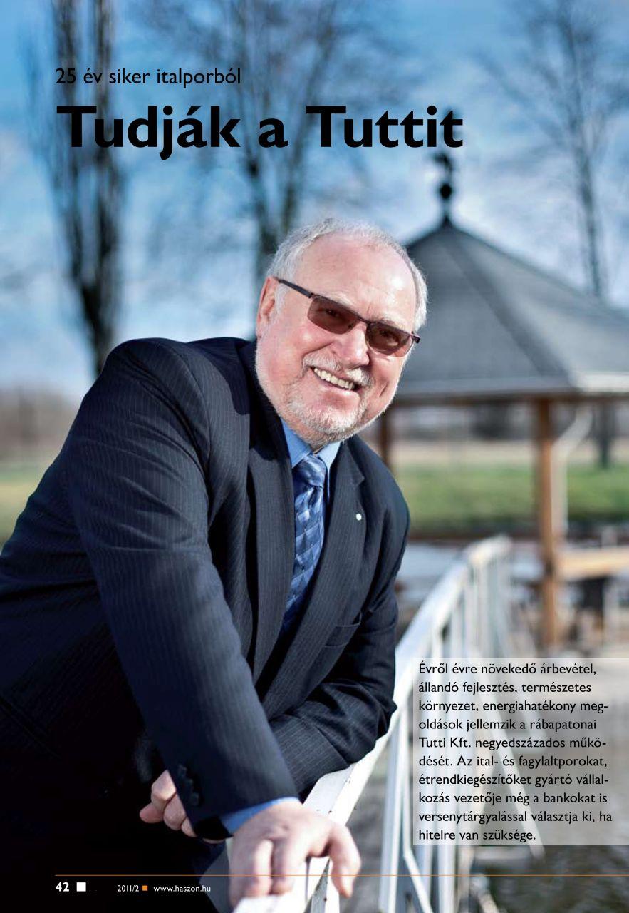 2011. február - Haszon Magazin, bevezető