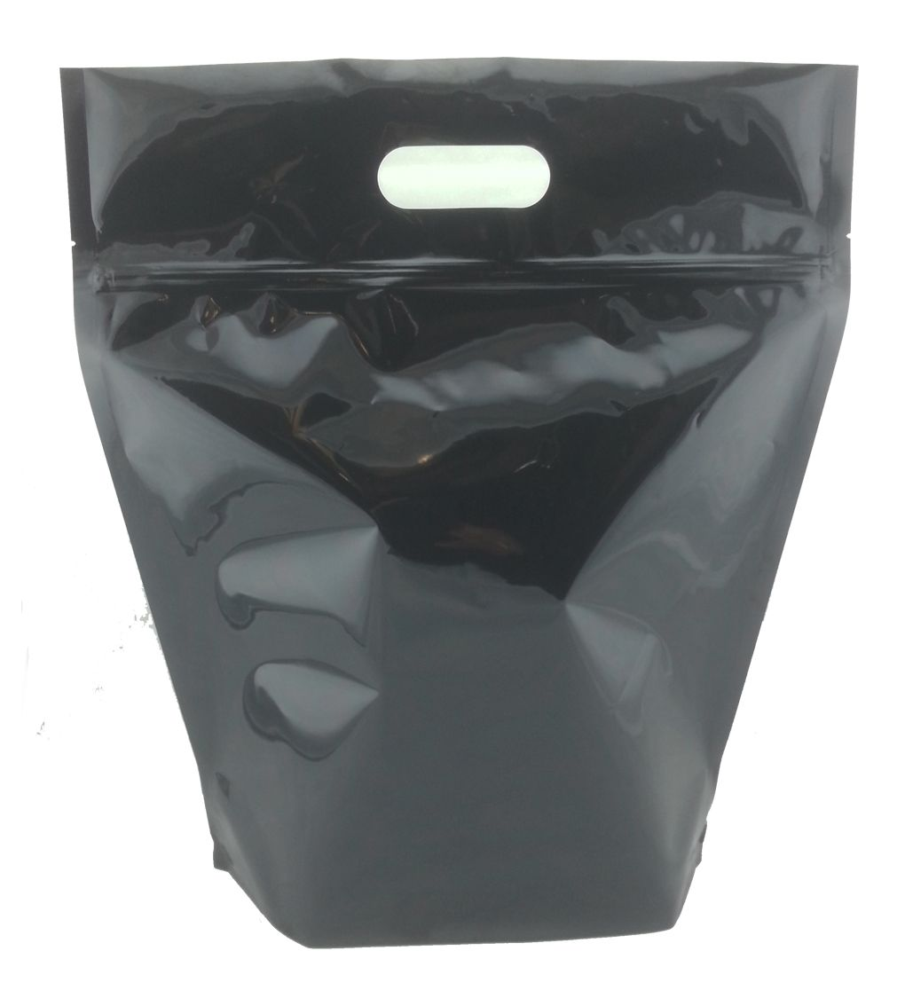 Doy syle with handle packaging