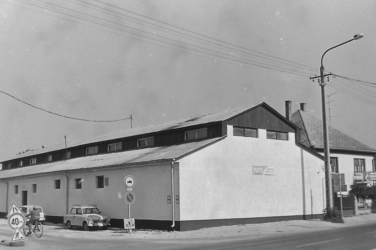 Tutti Kft. második épülete 1987-1994.
